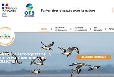 Initiative «Partenaires engagés pour la nature»