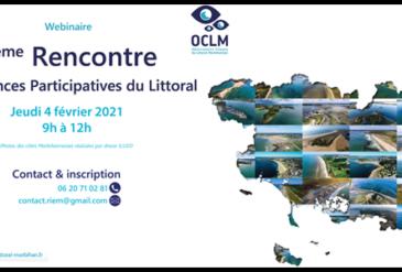 Webinaire O.C.L.M. de la 5e Rencontre des Sciences Participatives du Littoral