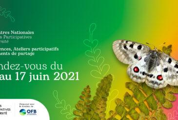 Les Rencontres Nationales Sciences Participatives Biodiversité du 15 au 17 juin 2021 !